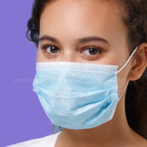mascherina chirurgica 3 strati di protezione