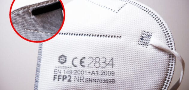 Mascherina FFP2 in Grafene per combattere il Coronavirus