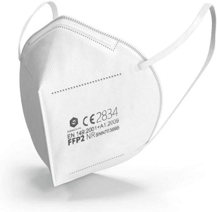 mascherine ffp2 grafene singola certificata