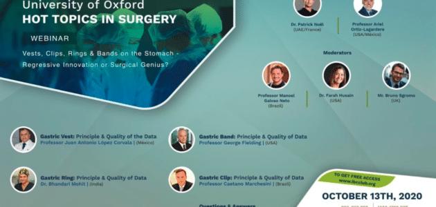 Webinar su Chirurgia Bariatrica del IBCCLUB • 13 ottobre 2020