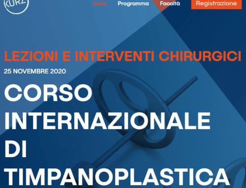 Corso online internazionale di Timpanoplastica – Info per iscrizione