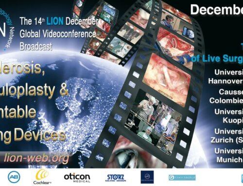 Webinar 8/9 dicembre • Live International Otolaryngology Network