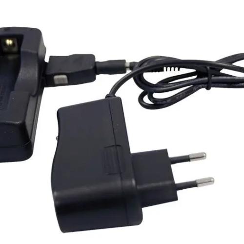 fonte luce led endoscopio carica batteria