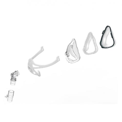 maschera cpap integrale composizione e misure