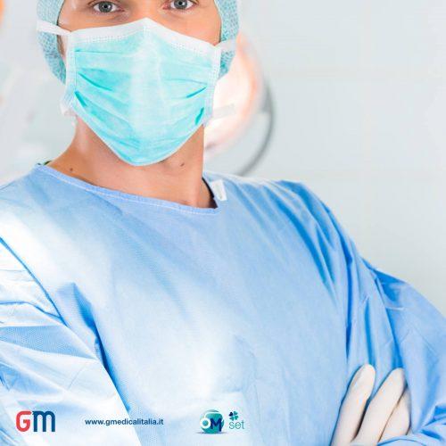 camice chirurgico monouso sterile